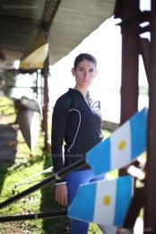 Lucía Palermo, remadora olímpica